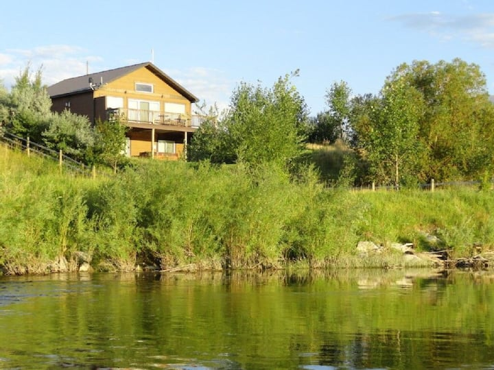 Yellowstone river house