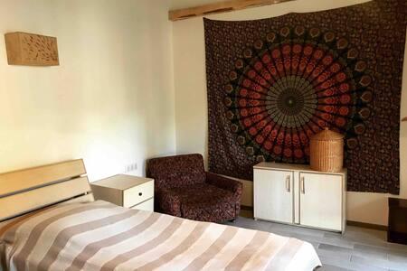 Sno House (twin room) in Kazbeg