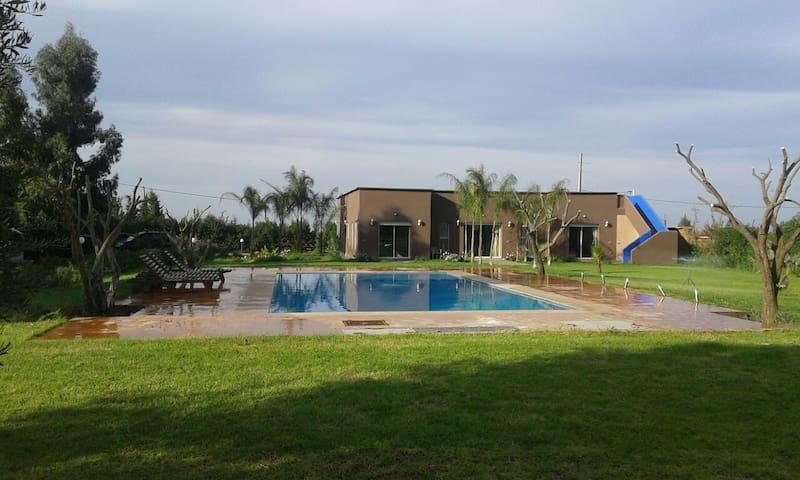 Villa de vacance - Sidi Abdellah Ghiat - Casa de camp