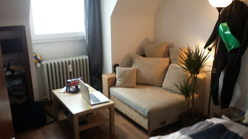 Cozy room in the city of Duesseldorf - Düsseldorf - Apartment