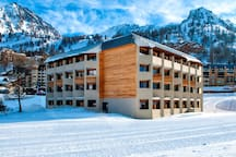 This is the perfect destination for a ski holiday.