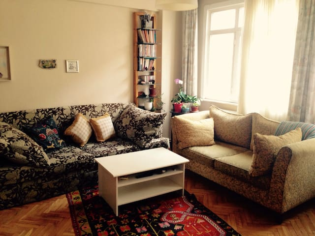 Private Room in a Sweet Flat & Central Besiktas