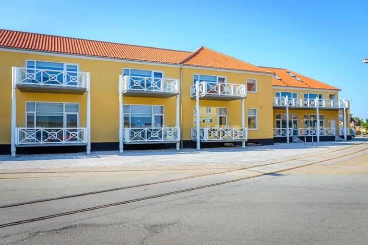 6 pers. lejlighed i Skagen - på bedste beliggenhed