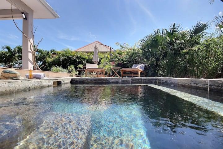 Villa zen idéal Kitesurf, piscine, proche plage