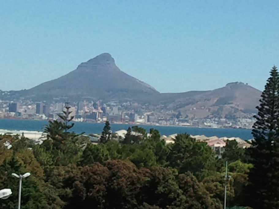 Great views of Cape Town