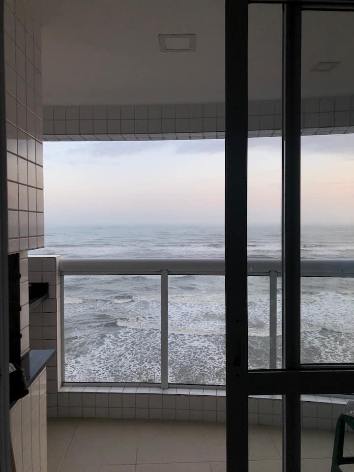 Apartamento com vista espetacular para o mar +WIFI