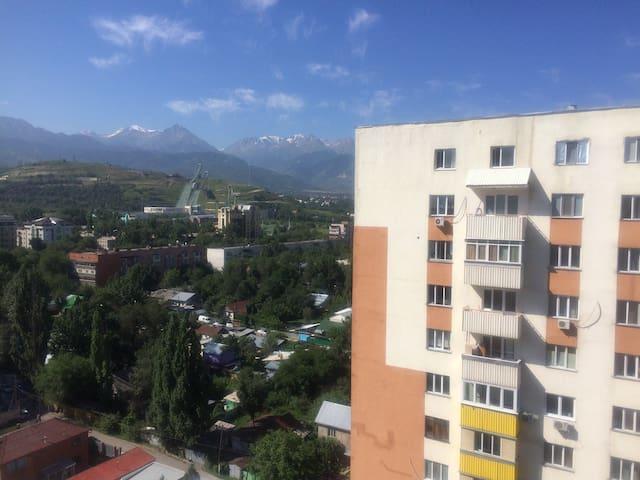 Гостеприимная кв. Cozy apartment - Almati