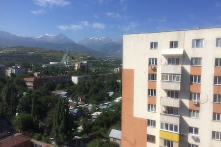 Гостеприимная квартира - Almaty - Apartment