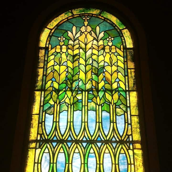See beautiful Tiffany stained glass
