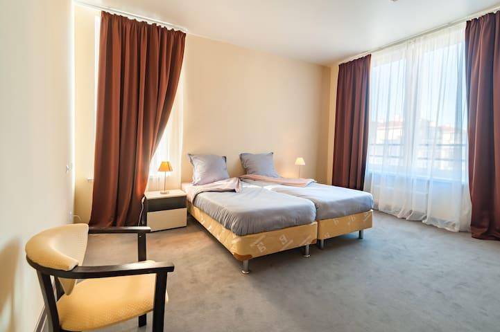 Апартаменты с видом на горы у Олимпийского парка - Veseloye - 飯店式公寓