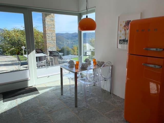 Apartment Fragolino mit dem Blick aufs Wesentliche