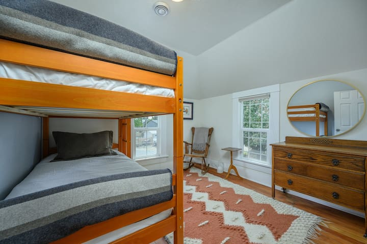 Upstairs bed #2 - twin bunk beds