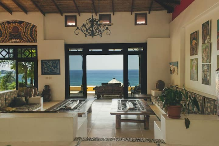 Dominical Estate 2 Story Ocean View Apartment