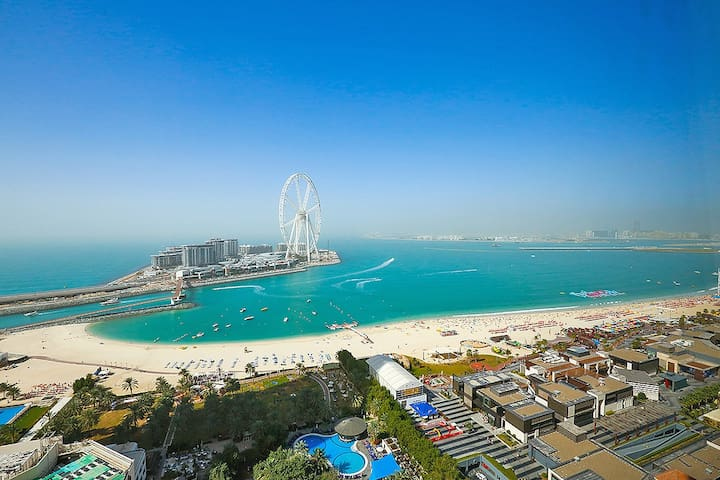 Amazing Seaview and Direct JBR Beach Access