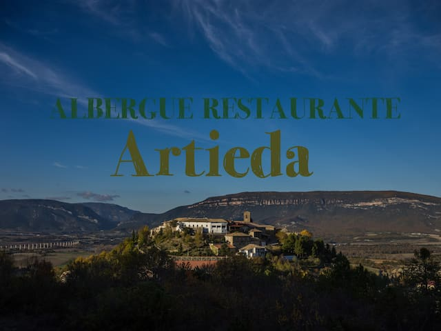 Albergue Restaurante de Artieda, parada del Camino