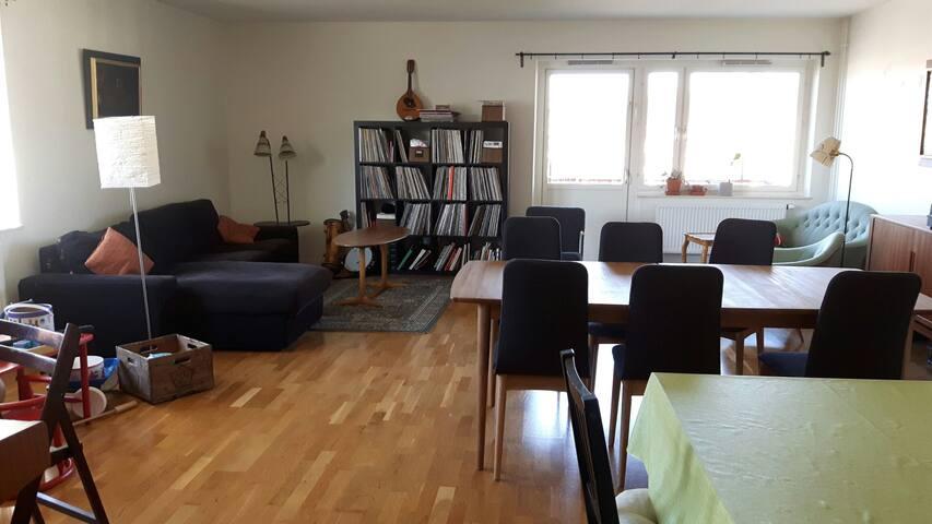 Stor barnvänlig lägenhet i östra Göteborg