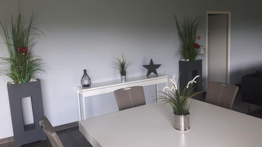 chambres dans grande maison moderne - Guéron - Villa