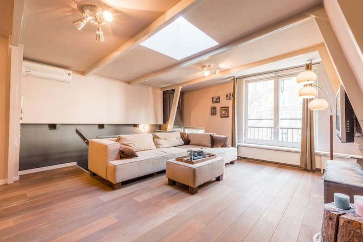 Romantic Jordan apartment 5 min walk to the Center - Amsterdam - Appartement