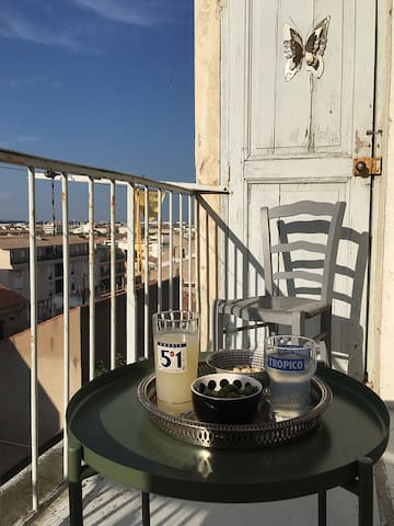 Balcon arrière / Back balcony