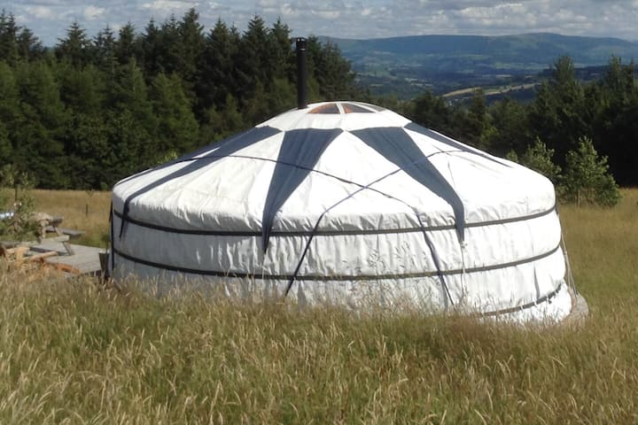 Curlew Yurt at Kite Hill Yurts