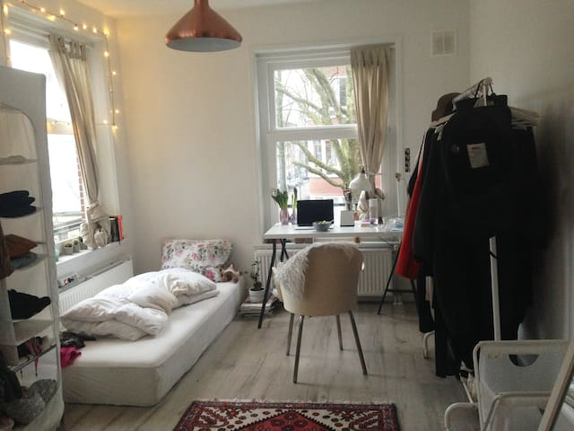 Light Room+private bathroom, 15mins from centraal - Amsterdam - Appartement