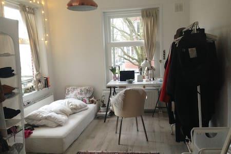 Light Room+private bathroom, 15mins from centraal - Amszterdam - Lakás