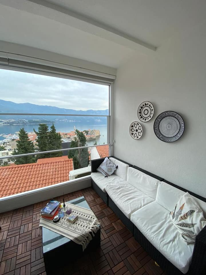 Best Budva Old Town, sea view by Premium Apartment