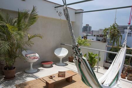 Amazing View - Private room with terrace - Distrito de Lima