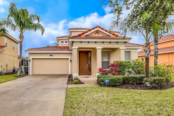 Lovely Pool Home, Very Private with CDC Cleaning Standards - 5BD/4.5BA #5WR510