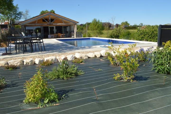 Gîte de charme avec piscine privée