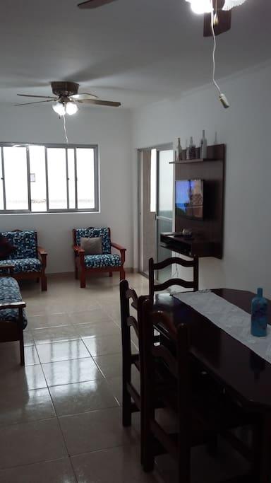 Sala Ampla 2 Ambientes