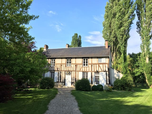 Lovely 17th century former priory - Fontaine-sous-Jouy - Maison