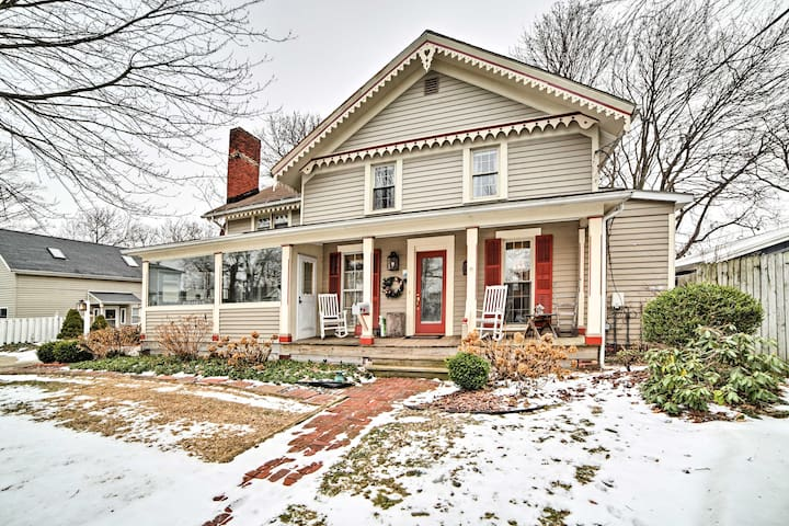 NEW! 4BR Conneaut Home - 10 Min From Lake Erie!