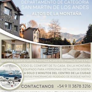 Dpto. de primer nivel en San Martin de los Andes