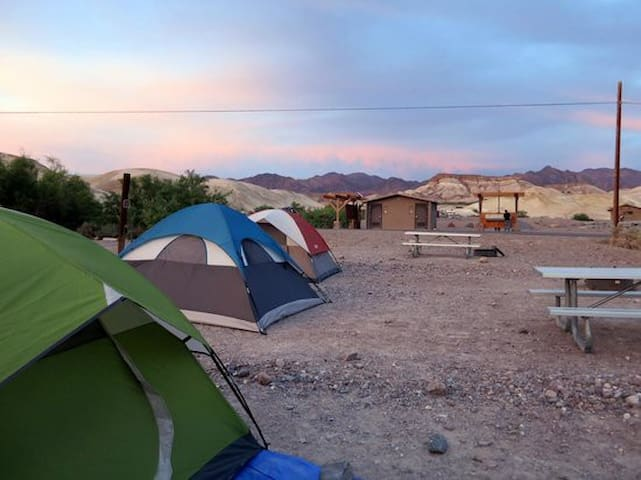 Death Valley Camping - Furnace Creek - Dom