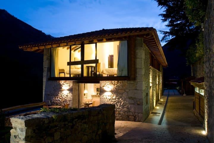 Casa Rural en Parque de Redes - Campo de Caso - Şehir evi