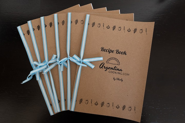 Recipe books for cooking back at home!