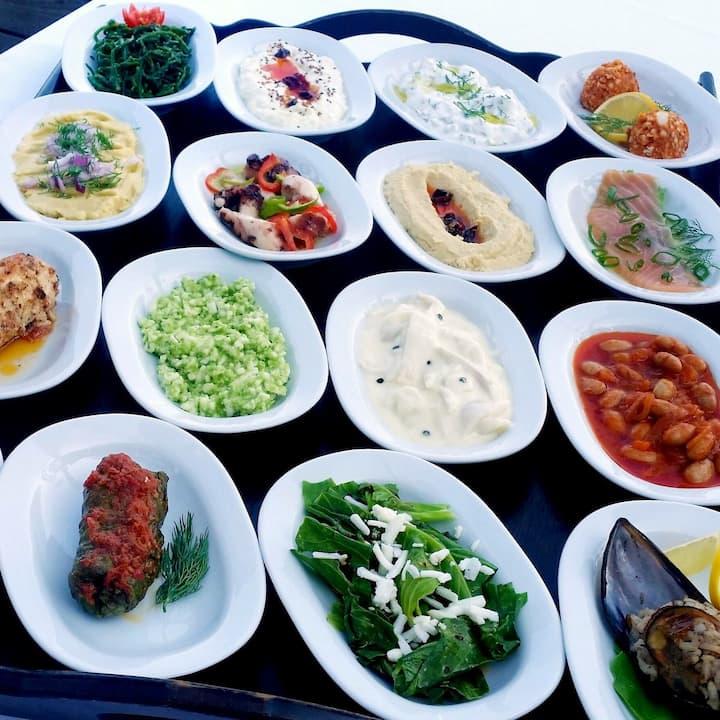 Turkish Mezes