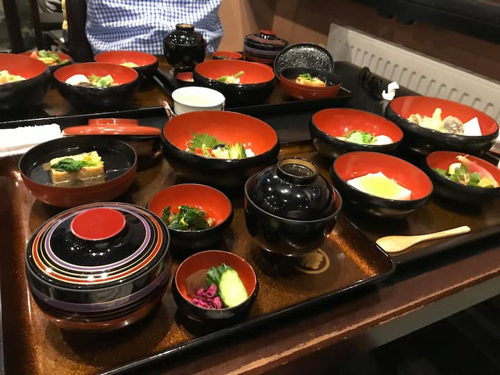 Shojin Cuisine (Not included in price)
