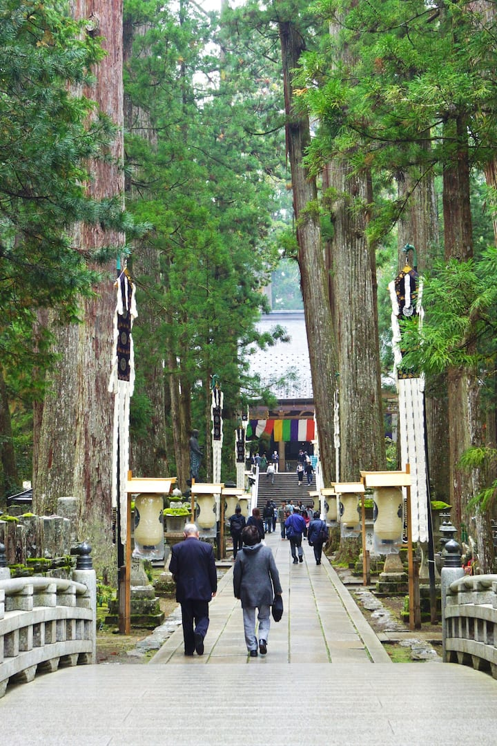 A path to Okuno-in