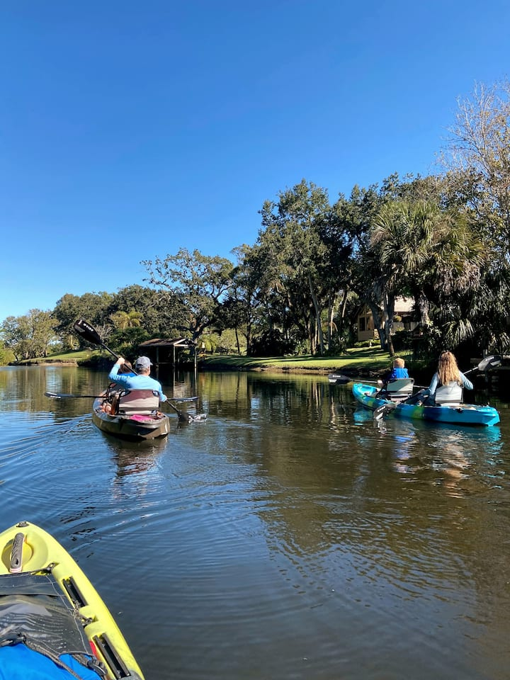 Tandem Kayak option