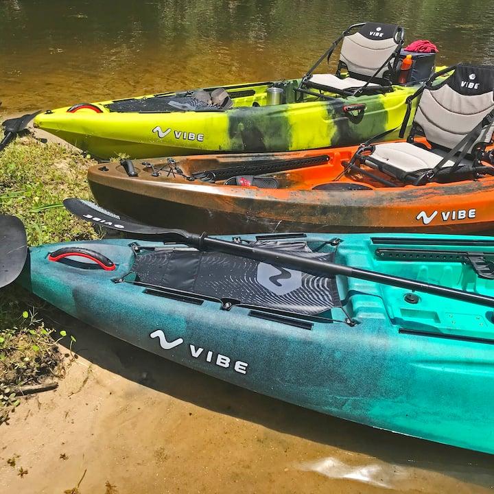Top-quality kayaks