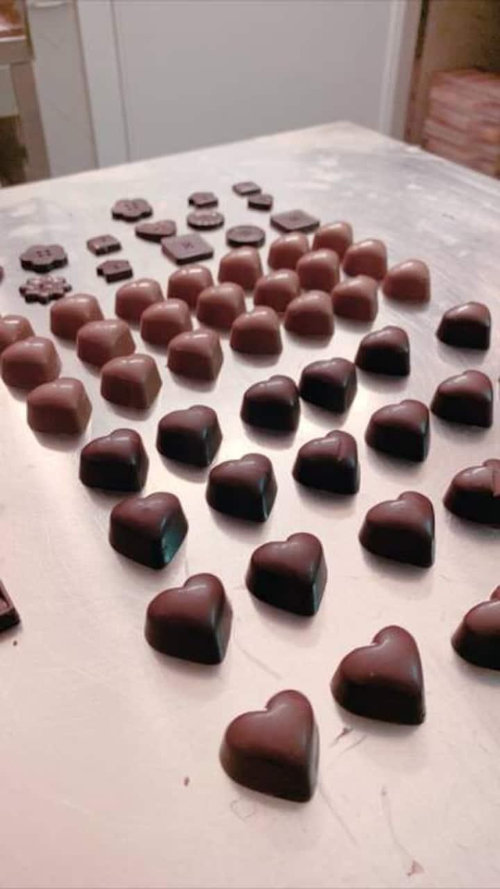 Cioccolatini creati da Mark e Julia