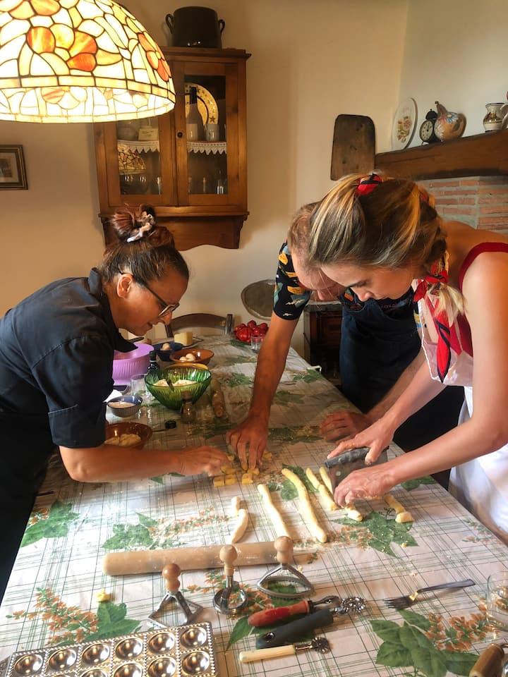 Preparation of gnocchi