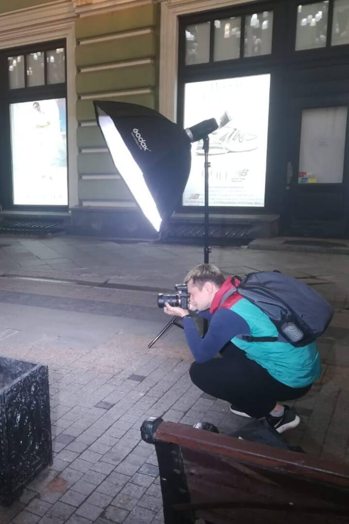 I'm using flashlight gear ✌
