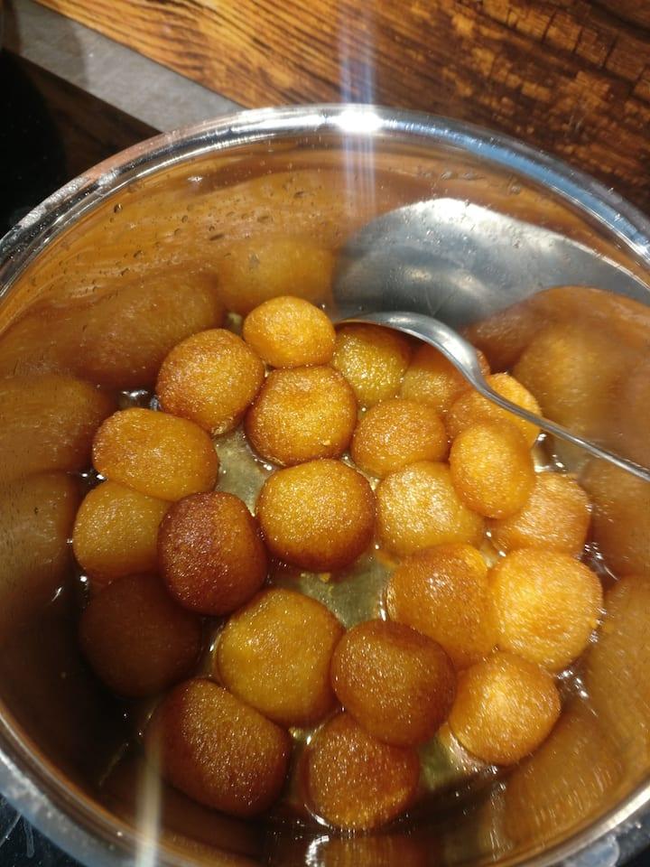 Sweet dish - Gulab Jamun