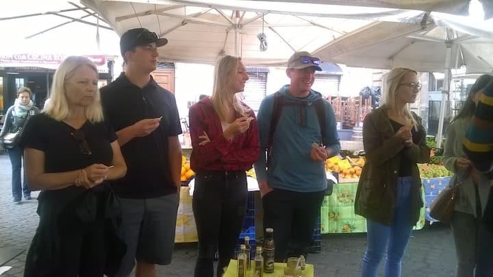 Tastings at the  market