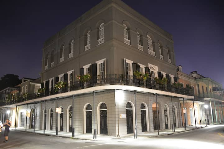 The ominous, the famous Lalaurie Mansion