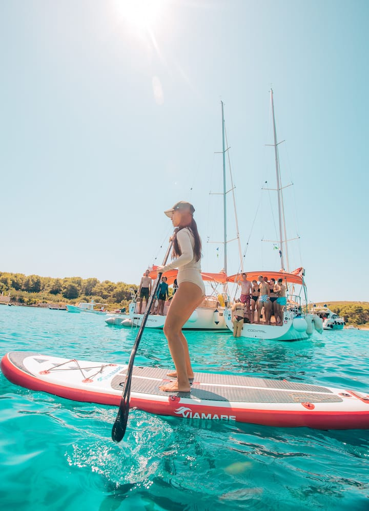 Try SUP (Stand Up Paddleboard)