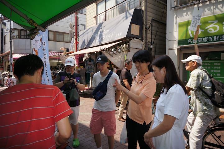 當地導遊給您體驗日本家庭的味道。